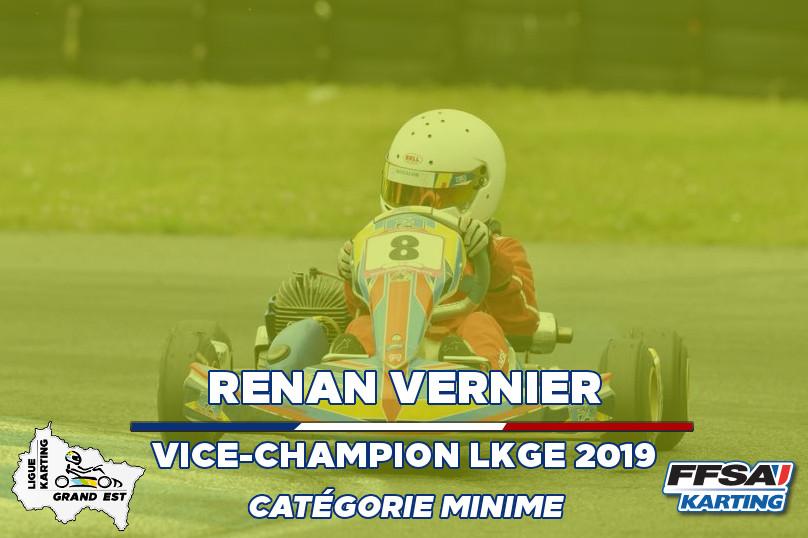 LKGE Renan Minime 2eChampionnat Karting