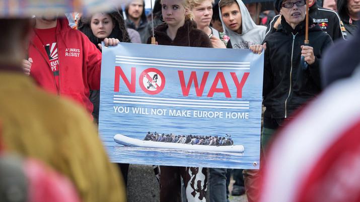 Shocking news: Europeans fear refugees