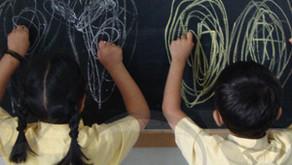 L'art du crayonnage en miroir