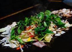 炒野菜(¥650)