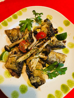 秋刀魚の香り焼き