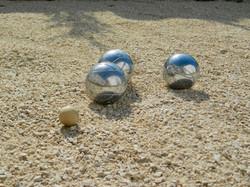 Les Boules de pétanque