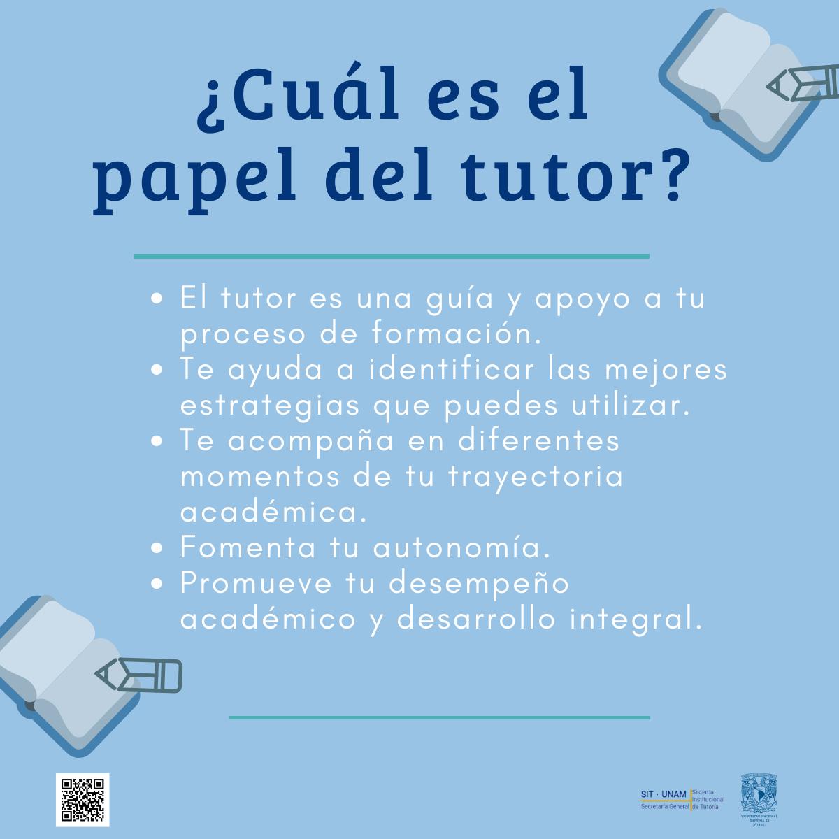 El papel del tutor
