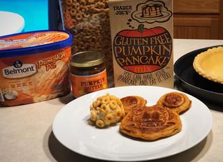 Panqueques De Calabaza Sin Gluten - Gluten Free Pumpkin Pancakes.