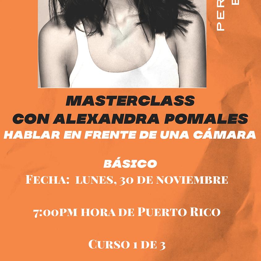 MASTERCLASS BASICO - HABLAR EN FRENTE DE LA CAMARA (1)