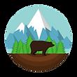 Salesin.io based in Colorado, bear badge
