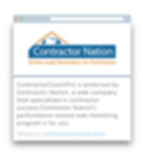 ContractorCoachPro.com Partners - Contra
