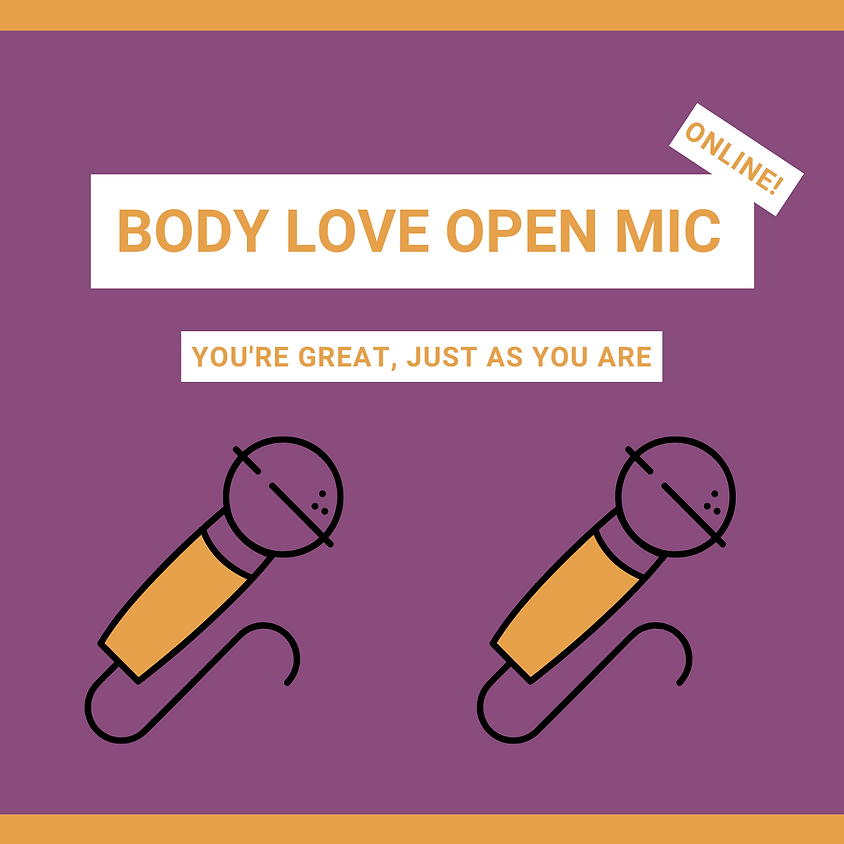 Body Love Open Mic- Pajama Party edition!