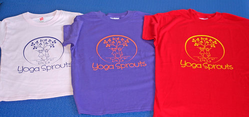 Yoga Sprouts Unisex T-Shirts