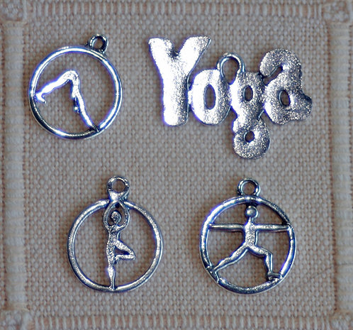 Yoga Charms (many designs to choose from)