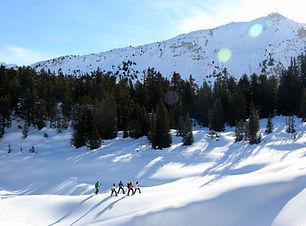 Snowshoe Col des Aravis, Snowshoe Traver
