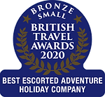 British Travel Awards Bronze - Best Esco