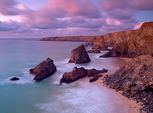 Bedruthan Steps (c) David Chapman, court