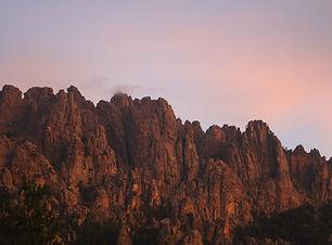 Bavella Sunset Corsica GR20