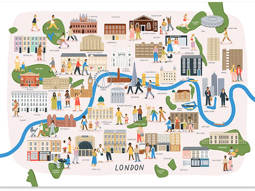 London Map A3