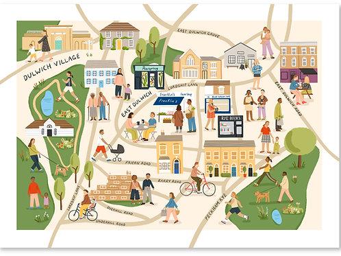 Dulwich Map A4
