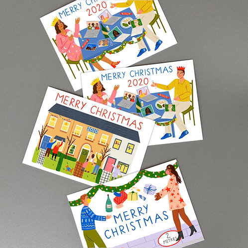Christmas Cards (pack of 3)