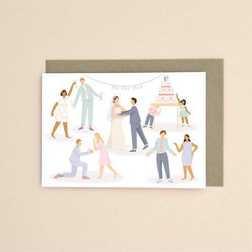 Wedding (Pack of 6)