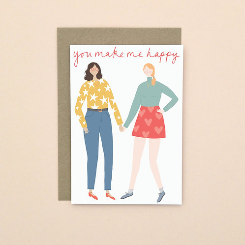 Female Couple (Pack of 6)