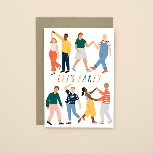 Let's Party (Pack of 6)