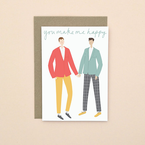 Male Couple (Pack of 6)