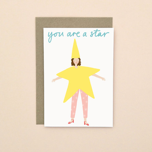 You Are A Star (Pack of 6)