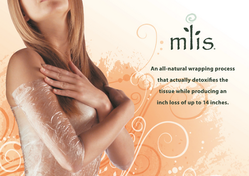 M'lis herbal contouring body wrap, reduce cellulite, lose inches, hydrate skin