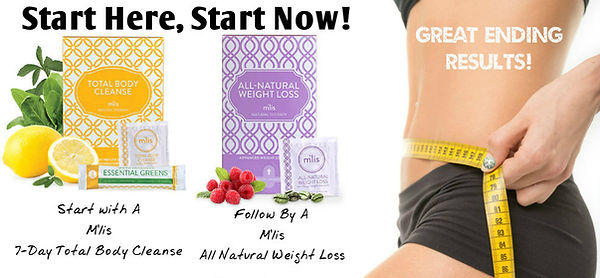 Your program begins with a 1-week total body cleanse and follows up with herbal weightloss support kit