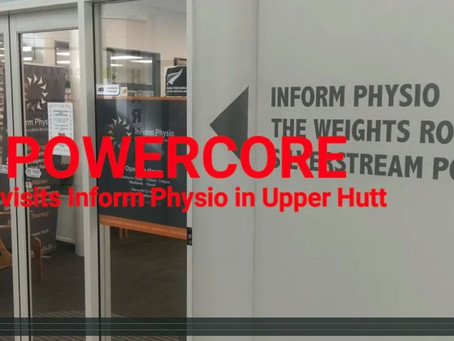 We visited Inform Physio....