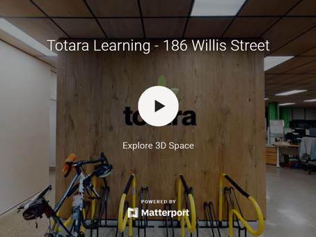 Totara choose 120 degree Powercore desks