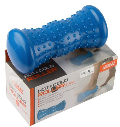 Hot and cold massage roller