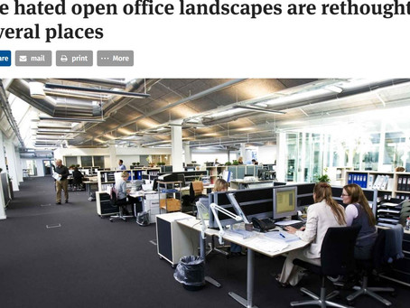 Danes are rethinking the open office..