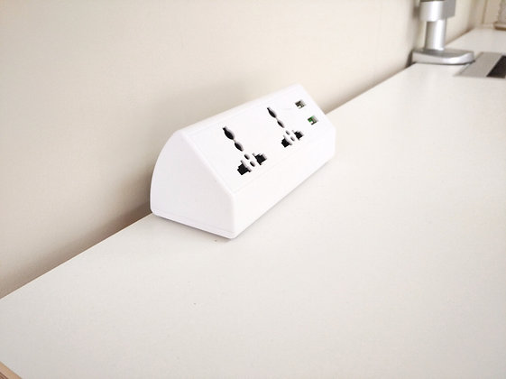 Desktop power socket