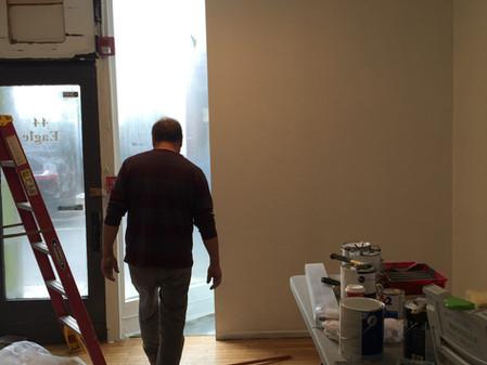 Gallery Renovations Begin