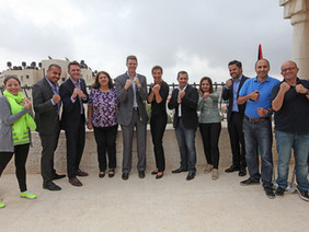 Palestinian Sports Candidates farewelled by Australian Representative Office in Ramallah