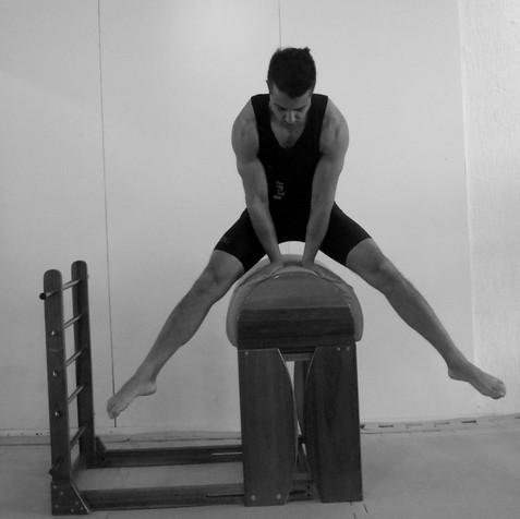 Pilates lardder barrel