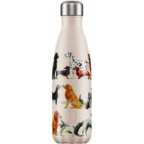 Bouteille Chilly's motif chiens 500ml