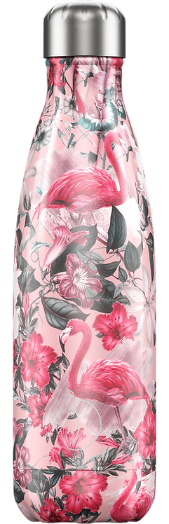 Bouteille Chilly's Flamingo 500 ml