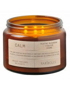 Bougie parfumée Calm 400gr 3 mèches Fariboles