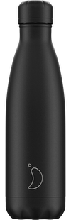 Bouteille Chilly's  monochrome Allblack 500 ml
