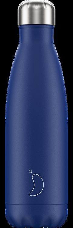 Bouteille Chilly's Bleu Mat 500 ml