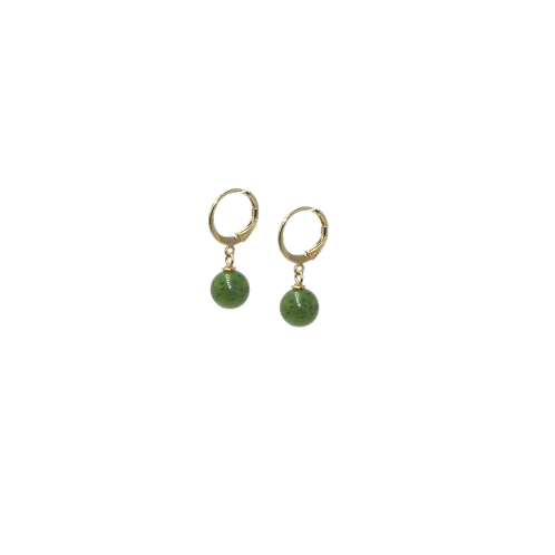 Boucle d'oreilles Mila création jade
