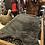 Thumbnail: Tapis peau de bête mouton fausse fourrure gris foncé