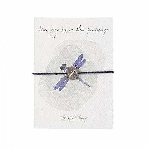 "Bracelet carte postale ""Dragonfly"" A Beautiful Story"