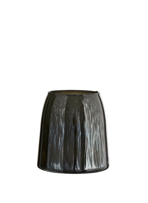 Vase en verre MadamStoltz vert