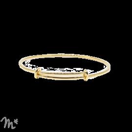 Bracelet Joseph doré à l'or fin 24 carats Mila Création