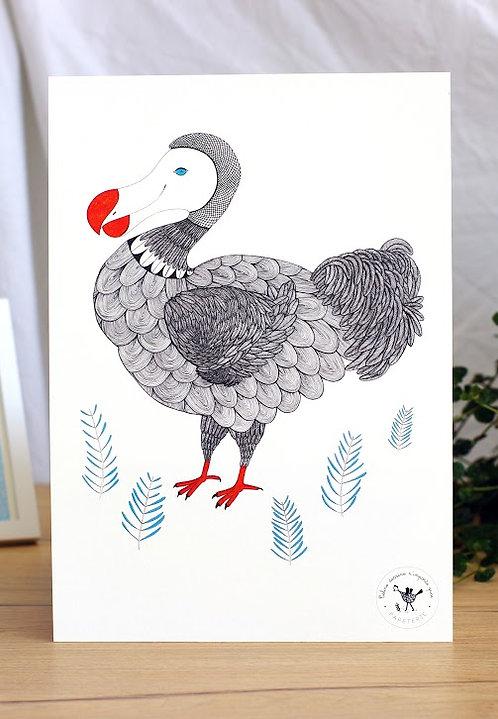 Affiche A4 (21x29,7) Dodo Céline dessine n'importe quoi