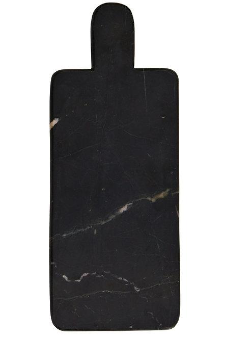Planche à découper en marbre noir 15X37 cm