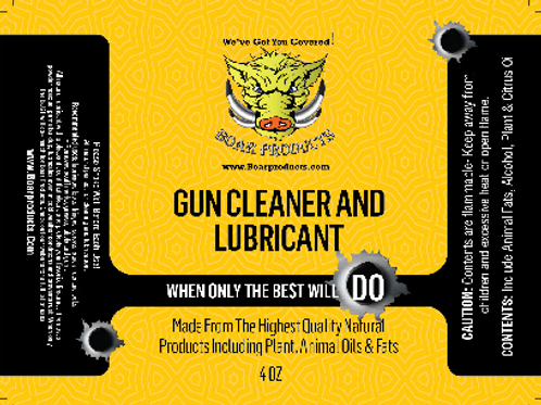 Gun Cleaner and Lubricant (4oz)