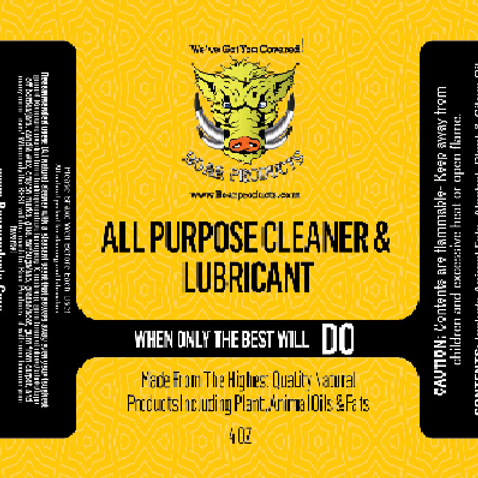 All Purpose Cleaner & Lubricant (4oz)